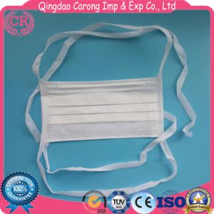 One-off 3ply Surgical Face Mask Without Earloop pictures & photos