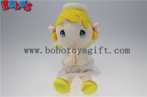 Stuffed Dolls Plush Stuffed Angel Girl Baby Doll Toy with Wing and Halo pictures & photos
