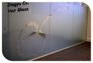 New Style High Quality Acid Etched Glass for Door Panels pictures & photos