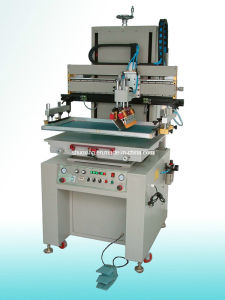 Vacuum Table Flat Screen Printing Machine pictures & photos