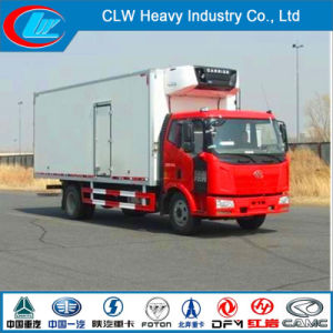 Faw 4X2 180HP Small Refrigerated Truck for Sale pictures & photos