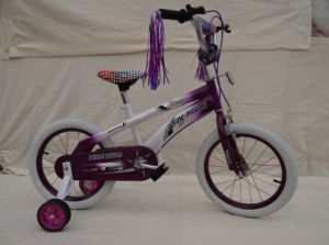 Good Quality White Tire Girl Child Bicycles (FP-KDB-018) pictures & photos