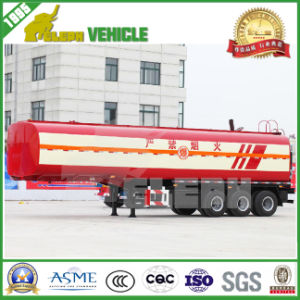 Customized Oil Diesel Transport Fuel Oil Tank Truck Trailer pictures & photos
