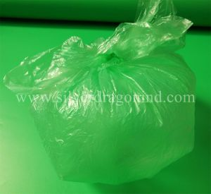 Custom Star-Sealed LDPE Garbage Bag pictures & photos