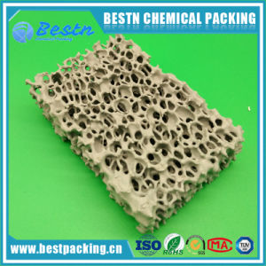 Silicon Carbide Material Ceramic Foam Filter for Metal Filtration pictures & photos