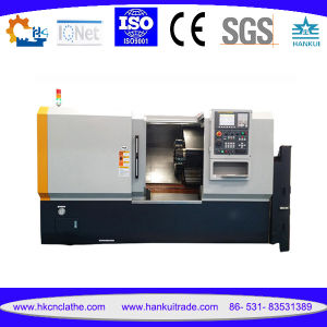 Ck80L Heavy Duty Slant Bed CNC Lathe with Rigid Steel Body pictures & photos