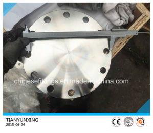 Forged JIS B2220 S31803 Deplex Stainless Steel Blind Flange pictures & photos