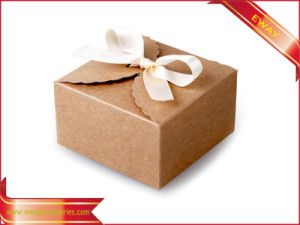 Cake Food Box Kraft Fold Paper Box Gift Box pictures & photos