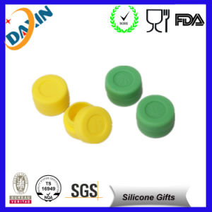 High Quality Customized Diameter 28mm 4ml Small Silicone Jars pictures & photos