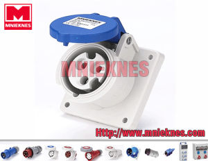 16A 2p+PE IP44 Industrial Socket (MN1331)