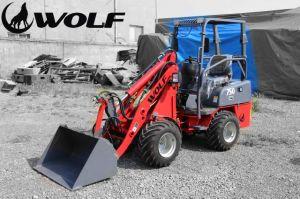 Wolf 750 Mini Radlader 600kg Mini Loader pictures & photos