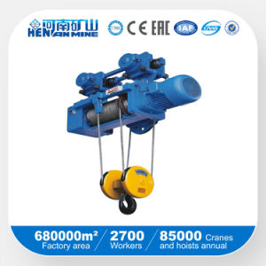 High Quality 1ton 5ton 10ton 20ton Electric Wire Rope Hoist\Electric Chain Lifting Hoist pictures & photos