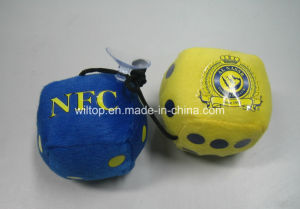 Fuzzy Plush Cubic Hanging Dice (PM001) pictures & photos