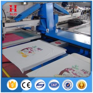 Automatic Digital Screen Printing Machine with 8 Colors pictures & photos