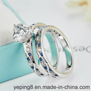 Atmospheric Engagement 925 Silver Rings Set-142 pictures & photos