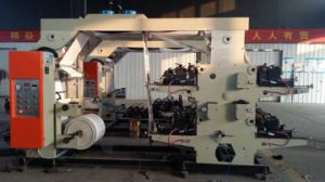 Flexo 4 Color Printing Machine pictures & photos