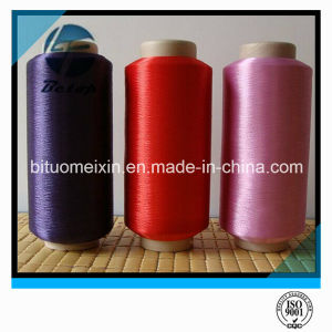 Good Quality 100% Ring Spun Polyester Yarn for Weaving and Knitting pictures & photos