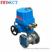 High Efficiency Motor Actuated Ss Ball Valve