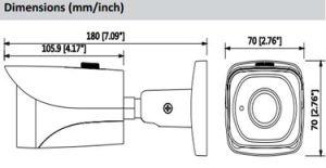 Dahua 8MP IR Mini Bullet Network IP Camera (IPC-HFW4830E-S) pictures & photos