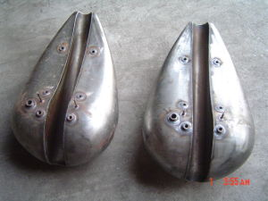 Deep Drawn Part Fuel Tank Motorcycle Gas Tank pictures & photos
