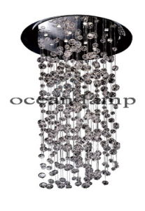 Modern Glass Chandelier Lihting, Glass Light Lamp (Om031/200) pictures & photos