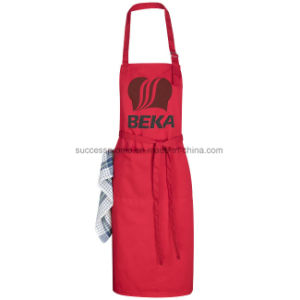 Adjustable Apron with Buckle Around Neck and Tie Back Closure pictures & photos