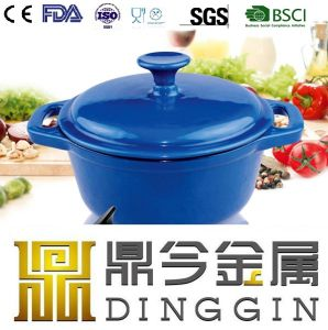 Colour fashion Enamel Cast Iron Duch Oven Pot with FDA pictures & photos