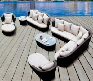 Outdoor Leisure Sofa Garden Furniture Rattan / Wicker Sofa S247 pictures & photos