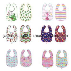 PEVA Waterproof Printed Baby Bibs pictures & photos