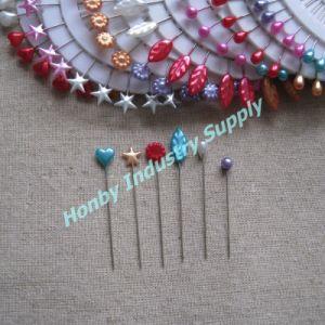Wheel Packing 55mm Decorative Plastic Head Hijab Pin