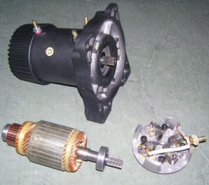 DC 12V Winch Motor pictures & photos