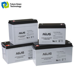 12V200ah Solar Deep Cycle AGM Gel Lead Acid UPS Battery pictures & photos
