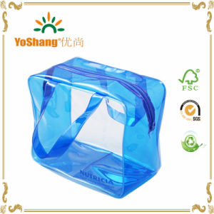 Personalized Clear PVC Transparent Travel Pouch Organizer Toiletry Bag Available for Customize pictures & photos