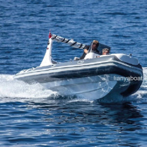 Liya Rib Boat 520 Fiberglass Hull Boat Sale in Europe pictures & photos
