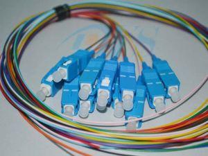 12 Cores Sc/Upc 12colour Fiber Optic Pigtail pictures & photos