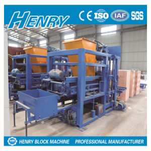 Cement Block Making Machine Qtj4-25 Hollow Block Machines for Sale pictures & photos