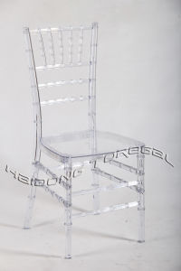 China Wholesale Transparent Clear Resin Wedding Tiffany Chair pictures & photos