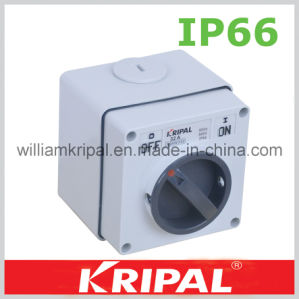 IP66 3p 32A Weatherproof Isolator Switch