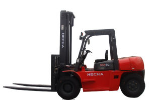 Hot-on-Sale! CE Approved 5 Ton Hydraulic Diesel Forklift pictures & photos