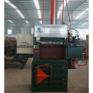 20HP Hydraulic Vertical Baler for PP, PE Film pictures & photos
