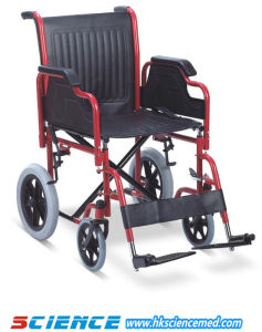 Steel Transfer Wheelchair (SC-SW02) pictures & photos