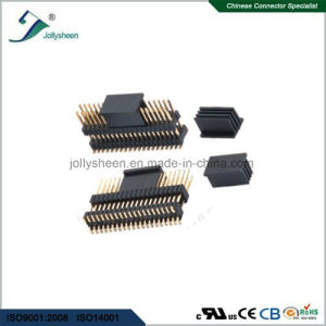 Pin Header Pitch 2.54mm  Dual Row Dual Insulator SMT Type H2.0mm pictures & photos