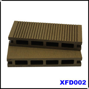 Hollow Outdoor Terrassendielen WPC Flooring Board (KJ001)