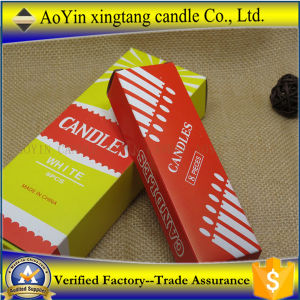 China 450g White Fluted Candle Suppliers pictures & photos