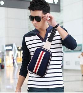 Fashion Striped Crossbody Shoulder Bag for Men pictures & photos