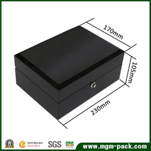 High Glossy Piano Lacquered Wooden Watch Box pictures & photos