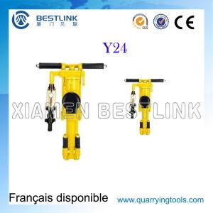 Y20 Y24 Portable Pneumatic Vertical Rock Drilling Machine pictures & photos