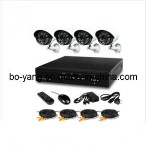 4CH Video Camera Security Kit