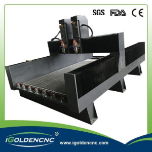 1300X2500 CNC Machine Stone Router with Two Spindles pictures & photos