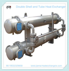Double Shell and Tube Heat Exchanger for Oil Cooler pictures & photos